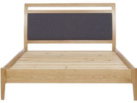 Forma Oak 5'0 King Size Bed