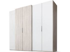 5 Door Wardrobe with Left-hand Storage Doors