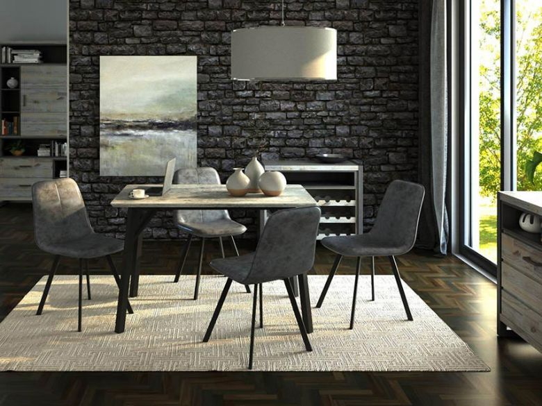 Zurich Rectangular Dining Table and Chairs
