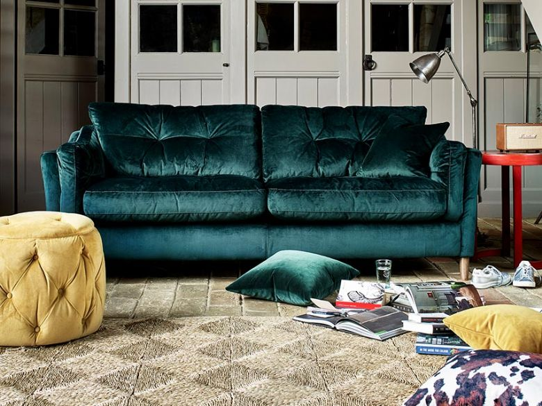 Oakmore Sofa in Velvet