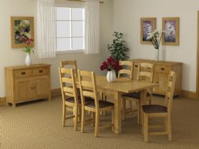 Fairfax Compact Oak Dining Furniture