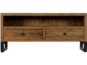Reclaimed TV Unit with Drawers