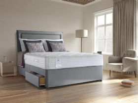 Sealy Alder Memory double divan and mattress at Lee Longlands