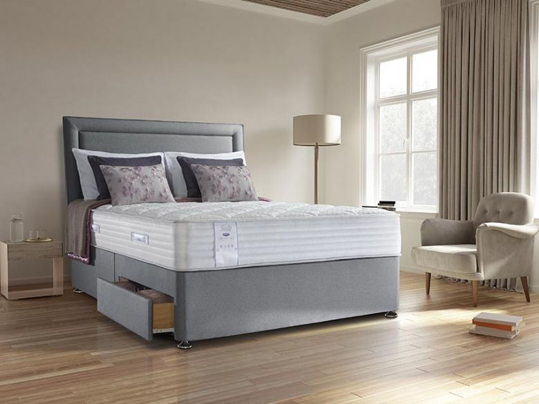 Sealy Alder Memory 5'0 mattress and divan