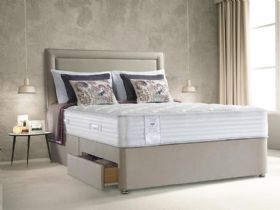 Sealy Alder Geltex divan and mattress