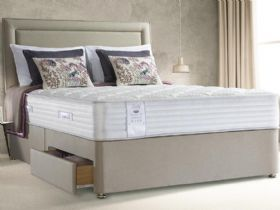 4'6 Double Platform Top Divan and Mattress