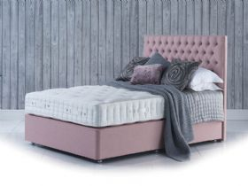 Hypnos Orthos 9 Prestige Cashmere super king zip and link bed