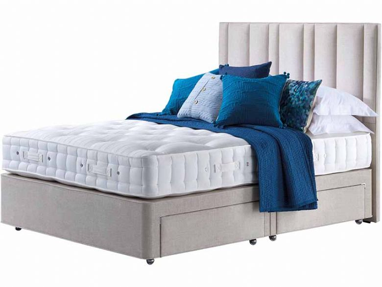 Hypnos Orthos 7 Prestige Wool single divan bed available at Lee Longlands