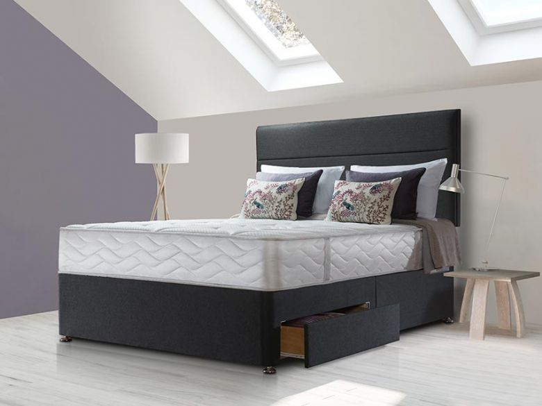 Sealy Sapphire Latex Superior divan set at Lee Longlands