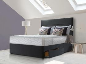 Sealy Sapphire Latex Superior 6'0 divan and mattress