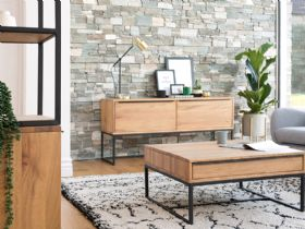 Brockley Console Table and Coffee Table