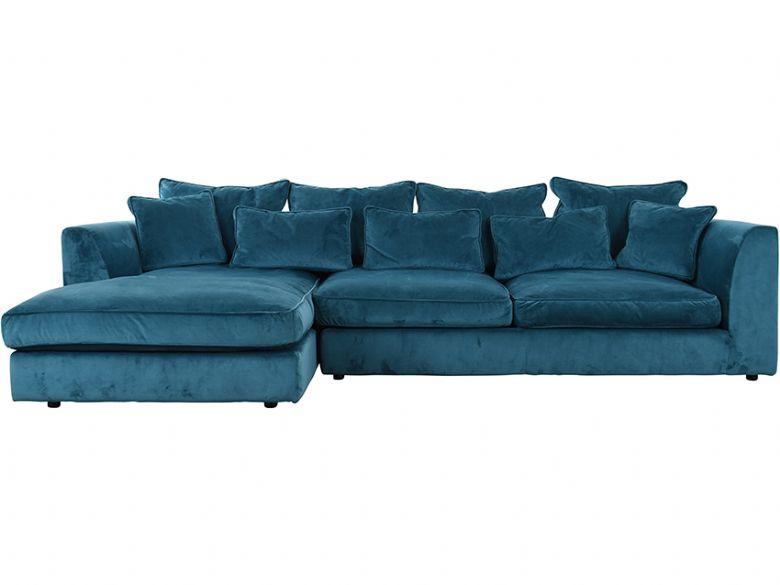 newest d8576 cda98 Long Farm LHF Large Chaise Sofa