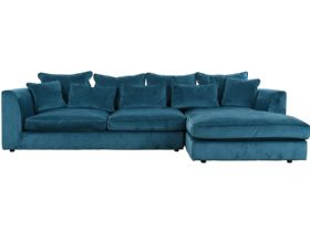 Long Farm RHF Large Chaise Sofa