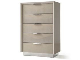 5 Drawer Tall Wide Chest