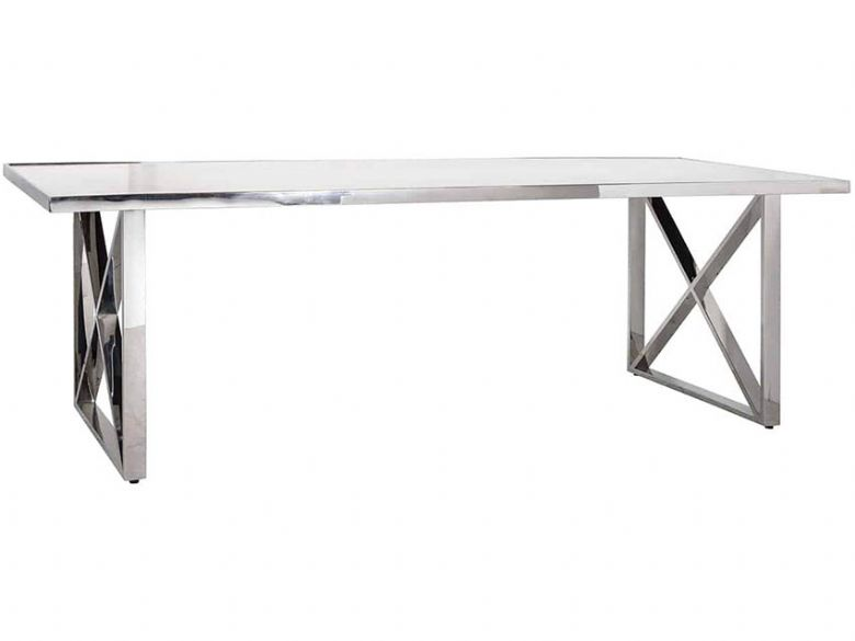 Balham 240cm Cross Leg Dining Table