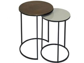 Content By Conran Fera Duo of Round Tables