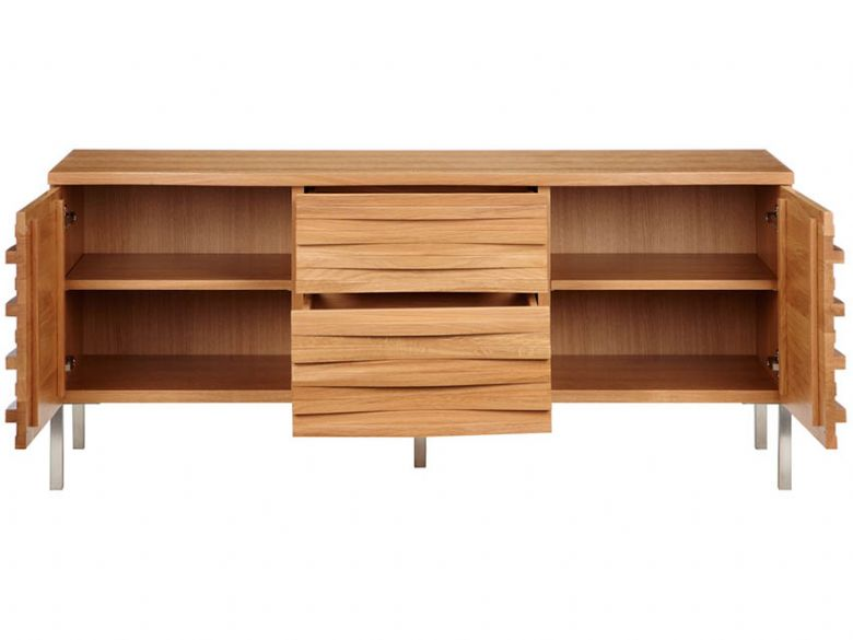 Content by Conran Wave Sideboard open