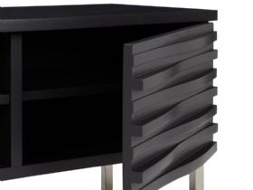 Content by Conran Wave Media Unit charcoal finish