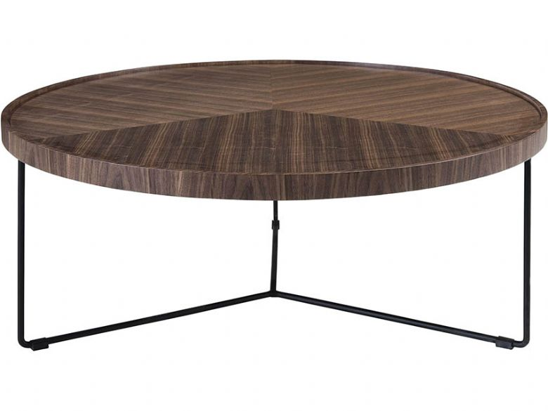 Dominus Walnut Wood Coffee Table