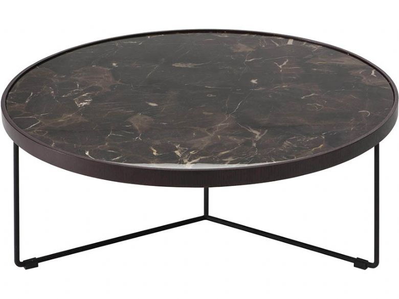 Natuzzi Editions Emperador Marble Coffee Table