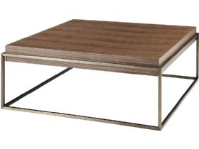 Walnut Square Coffee Table