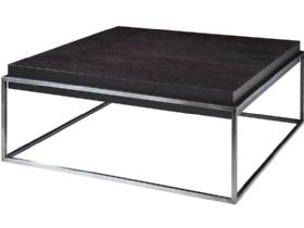 Smoked Oak Square Coffee Table
