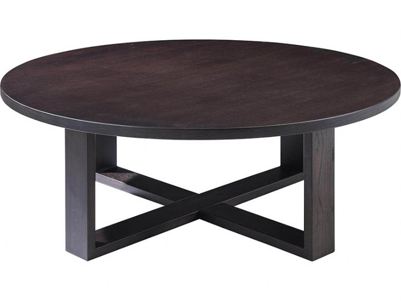 Natuzzi Editions Caprice Smoked Oak Central Table