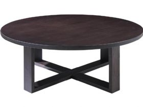 Smoked Oak Central Table