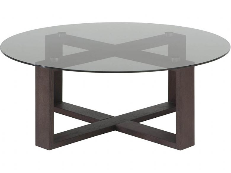 Natuzzi Editions Caprice Smoked Glass Central Table