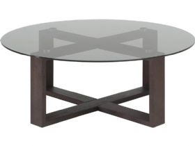 Smoke Glass Central Table