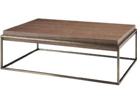 Walnut Rectangular Central Table