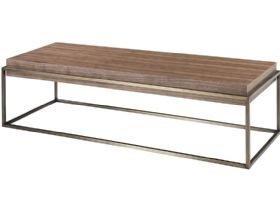 Walnut Narrow Rectangular Central Table