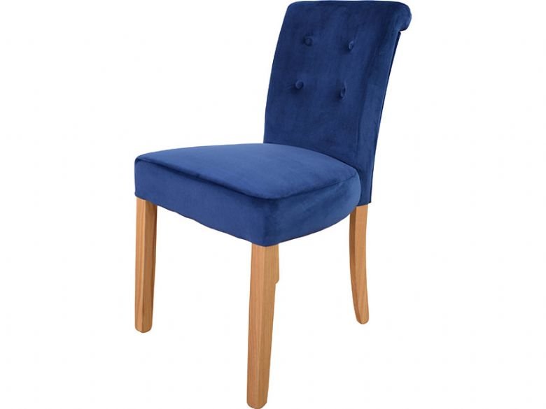 Ludec Blue Dining Chair