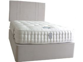 6'0 Super King Zip & Link Deep Divan & Mattress