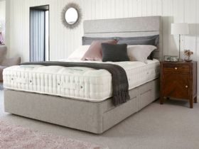 6'0 Super King Deep Divan & Mattress