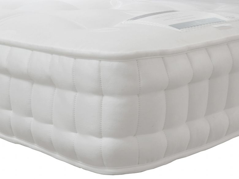 Harrison Wells 13000 pocket spring zip and link super king mattress available at Lee Longlands