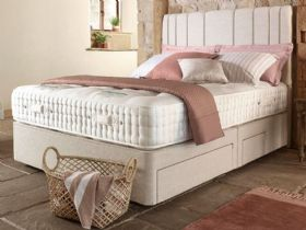 5'0 King Size Deep Divan & Mattress