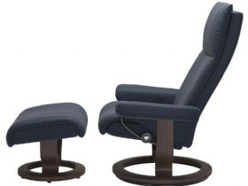 Stressless Aura medium recliner available at Lee Longlands Image Title: