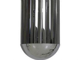 Grayson Chrome Smoke Hanging Lamp