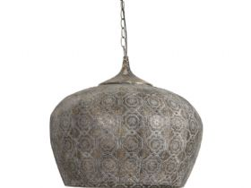 Emine Brown Gold Hanging Lamp
