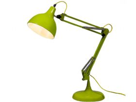 Lime Green Traditional Large Desk Lamp