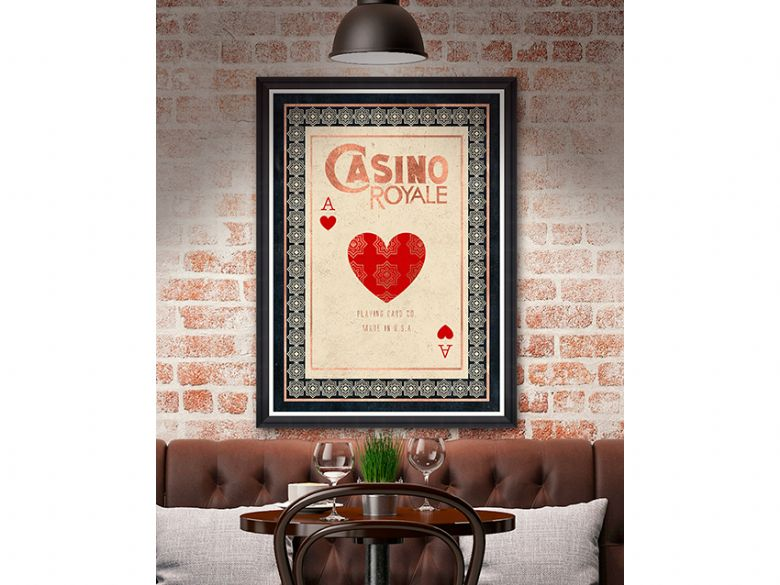 Casino Royale wall art