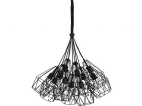 Kobaka Black Hanging Lamp