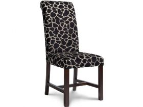 Chair with Dark Leg