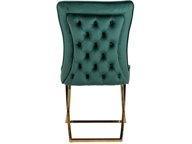 Fitzrovia Green Chair Back
