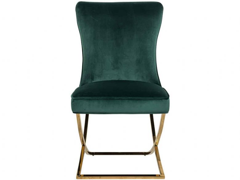Fitzrovia Green Chair Front