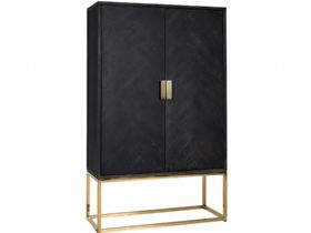 Savoy Gold 2 Door Cabinet