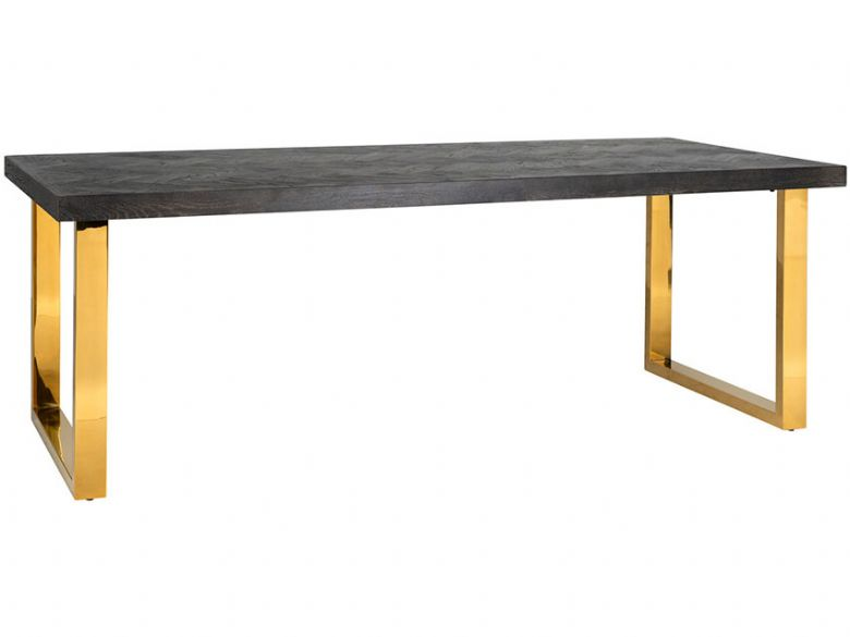 Savoy Gold 220cm Dining Table