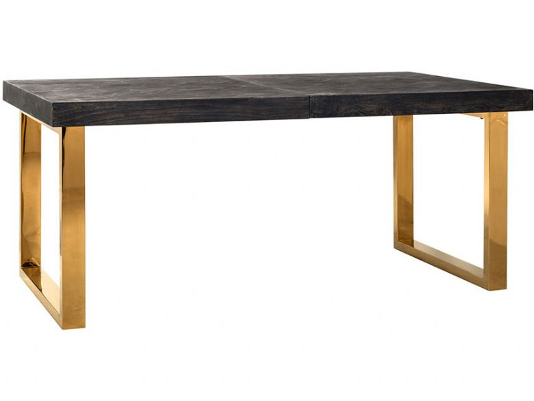 Savoy Gold 195cm Extending Dining Table