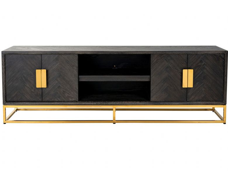 Savoy Gold 185cm 4 Door TV Unit